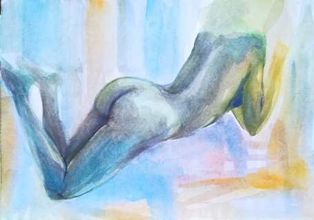 DESIRE 2 - watercolor on paper