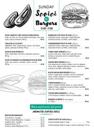 10 a5 menu